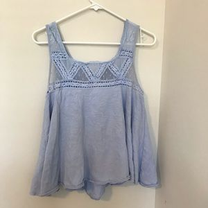 FREE PEOPLE LACE TANK